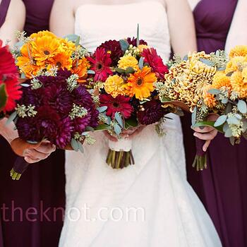 wedding color trends for fall 2014