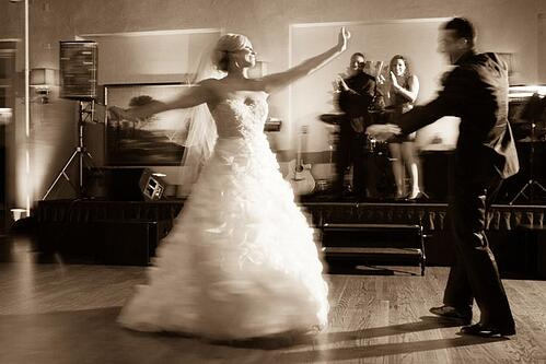 wedding planning tips - advice on picking a wedding dj dancing_bride