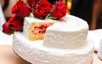 wedding cake - health and fitness tips from New Hope Soap