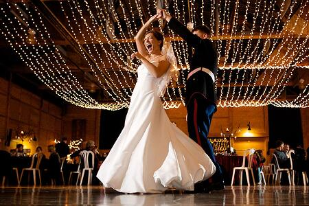 wedding planning - dj or live band for your wedding reception?